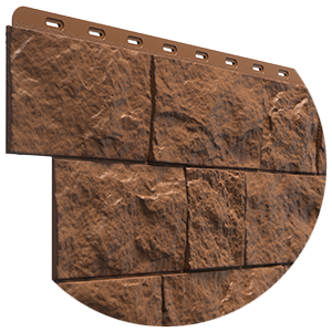 Фасадные панели под природную скальную породу FELS